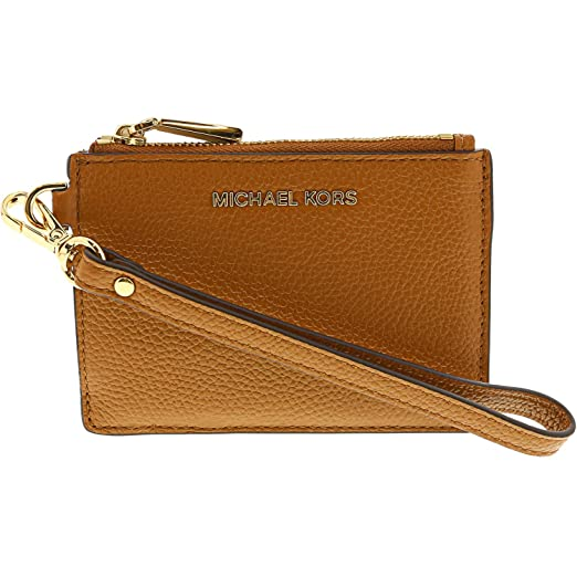 MICHAEL Michael Kors Mercer Leather Coin Purse (Acorn)