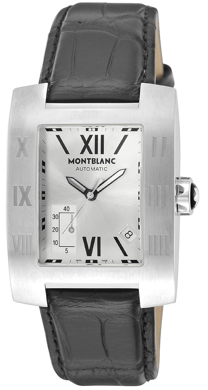 [モンブラン]MONTBLANC 腕時計 PROFILE シルバー文字盤 自動巻き 36994 メンズ 【並行輸入品】 B015CEX6JK