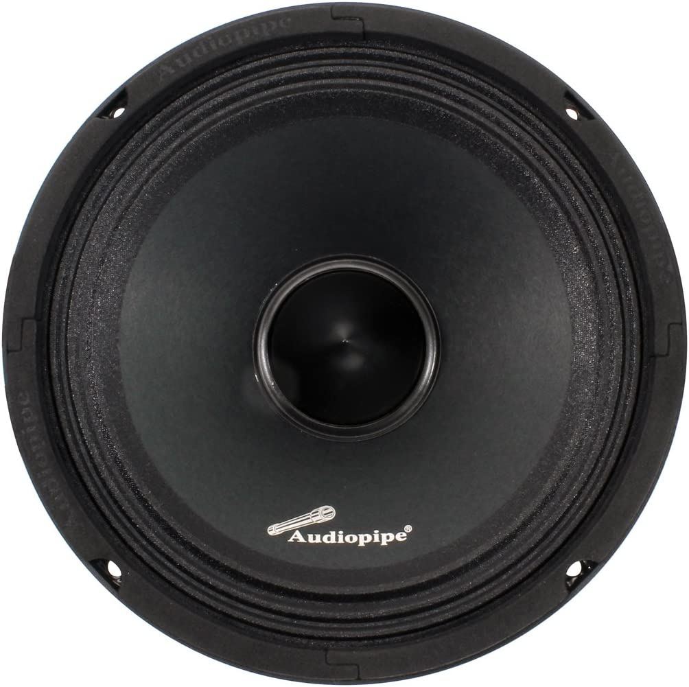 """Audiopipe APMB8BTB Audiopipe 8"""" Mid Range Speaker 500W Max 8 Ohms"""