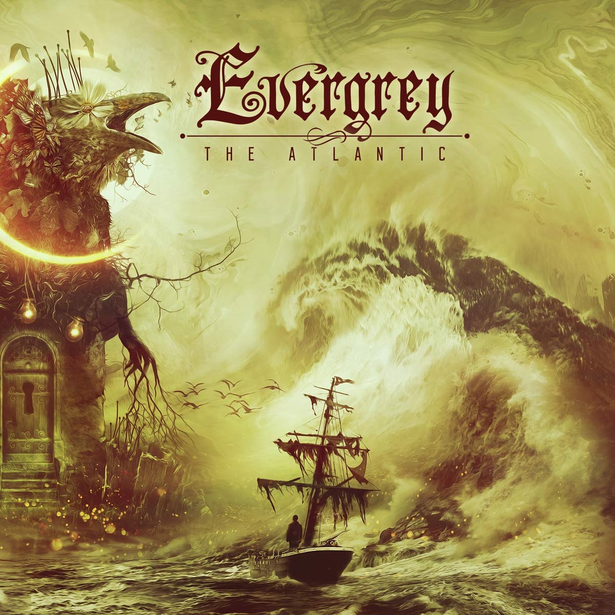 CD : Evergrey - The Atlantic (Digipack Packaging)