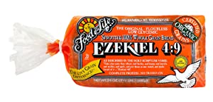 Food For Life Ezekiel 4:9 Sprouted Grain Bread, 24 Ounce (Pack of 06)
