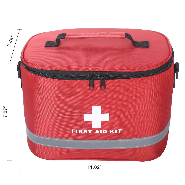 Amazon.com: zhiyi First Aid Bag - Bolsa de primeros auxilios ...
