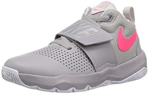 Nike Team Hustle D 8 (GS), Zapatillas de Deporte para Niños, (Atmosphere Racer Pink/Vast Grey 011), 36 EU: Amazon.es: Zapatos y complementos