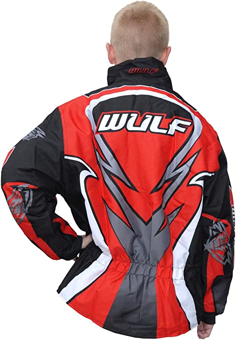 Pink 34 Wulfsport Kids Cub Children Attack Padded Pit Motorbike Motocross Jacket
