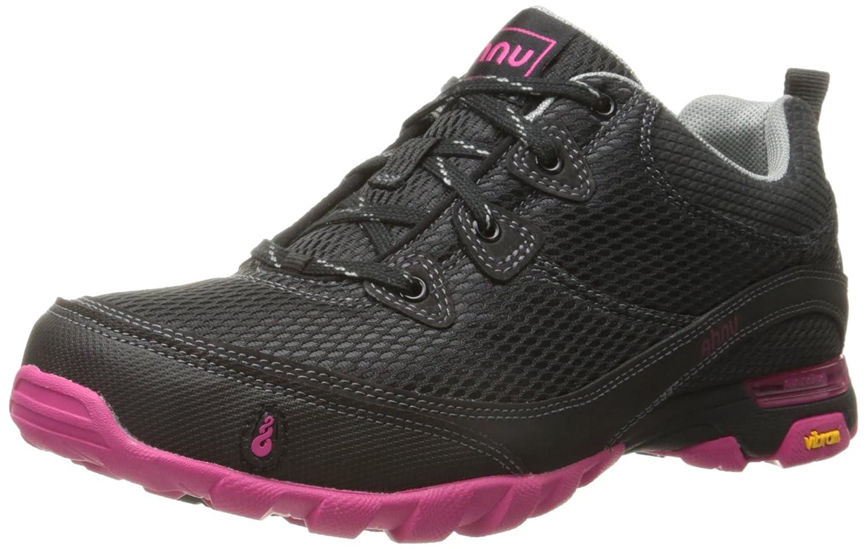 Black Pink Ahnu Women's Sugarpine Air Mesh Hiking shoes