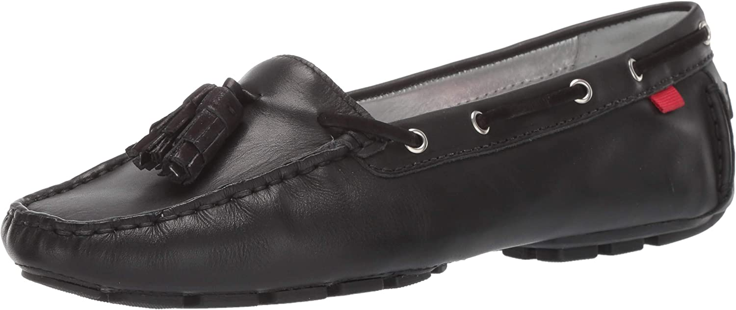 MARC JOSEPH NEW YORK Womens Leather Cherry Street Loafer Driving Style