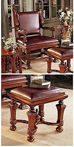 S Lord Cumberlands Throne Footstool Set