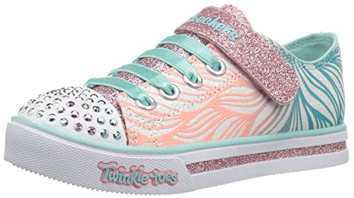Skechers Sparkle Glitz-Shiny Spirit, Zapatillas para Niñas: Amazon.es: Zapatos y complementos
