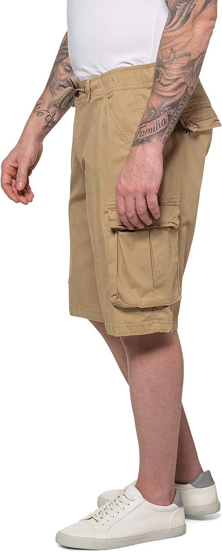 JP 1880 Men's Big & Tall Cargo Bermuda Shorts FLEXNAMIC® 726746 Beige (Sand 72674622)