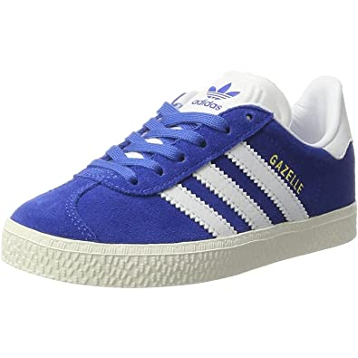 Adidas Originals Gazelle Junior Blue Suede 33.5 EU