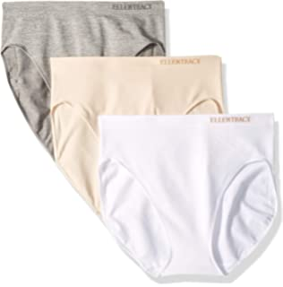 47a5b8b9b7d6 Ellen Tracy Essentials Womens Seamless Briefs 4-Pack Panties at ...