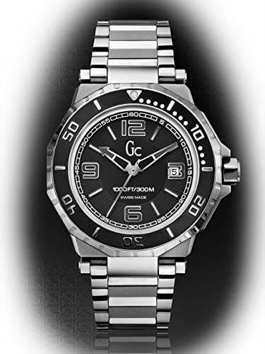 Reloj Guess Collection Gc Aqua Sport X79004g2s Hombre Negro: Amazon.es: Relojes