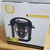 Robot de cocina Olla Programable GRAN FINN MAYOR F PLUS con Cubeta ...