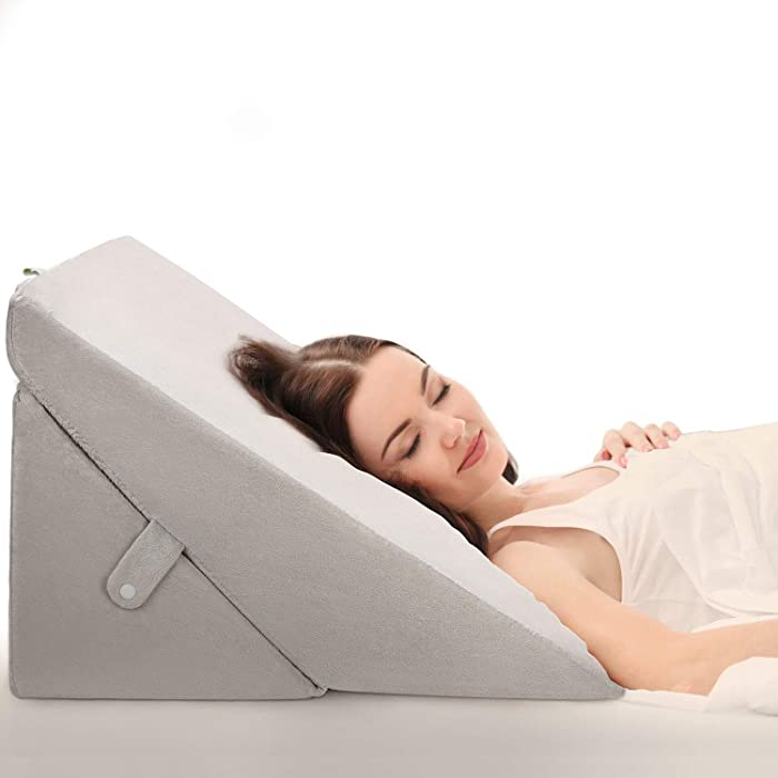 Updated 2021 – Top 10 Folding Wedge Memory Foam Pillow By Somerset Home