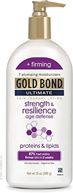 Gold Bond Ultimate Strength & Resilience Skin Therapy Lotion, Fresh, 13