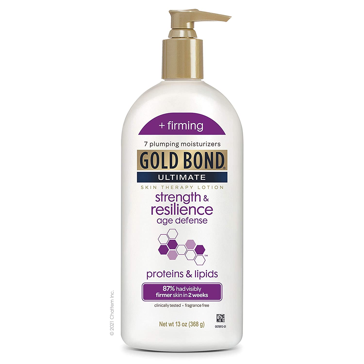 Gold Bond Ultimate Strength & Resilience Skin Therapy Lotion, Fresh, 13 Ounce : Beauty