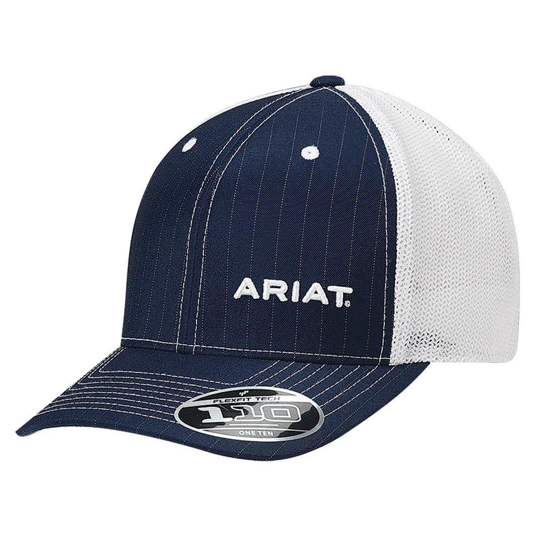 Ariat Men's Pinstripe Corner Brand, Blue, One Size