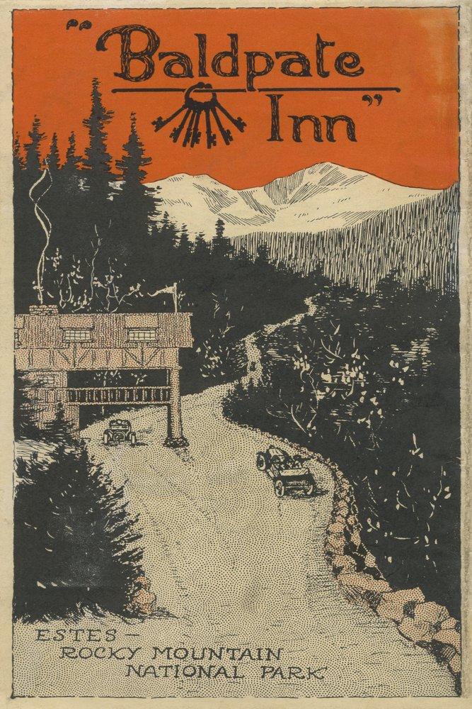 Estes公園、コロラド州 – Baldpate Innプロモーションポスター# 1 36 x 54 Giclee Print LANT-8442-36x54 36 x 54 Giclee Print  B017E9V2R4