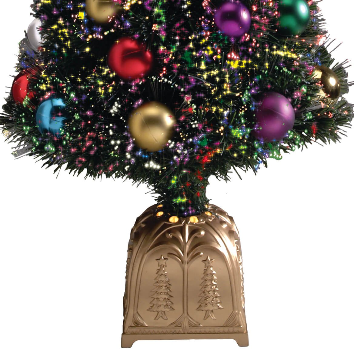 Amazon.com: WalterDrake Fiber Optic Christmas Tree by Northwoods ...