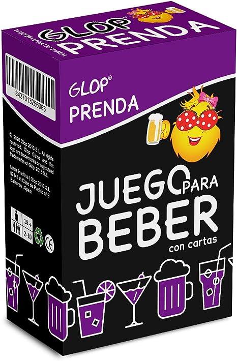 Glop Prenda - Juego para Beber con Prendas - Juego de Cartas para Fiestas - Juego de Mesa - Strip Poker- 100 Cartas: GLOP GAME: Amazon.es: Juguetes y juegos