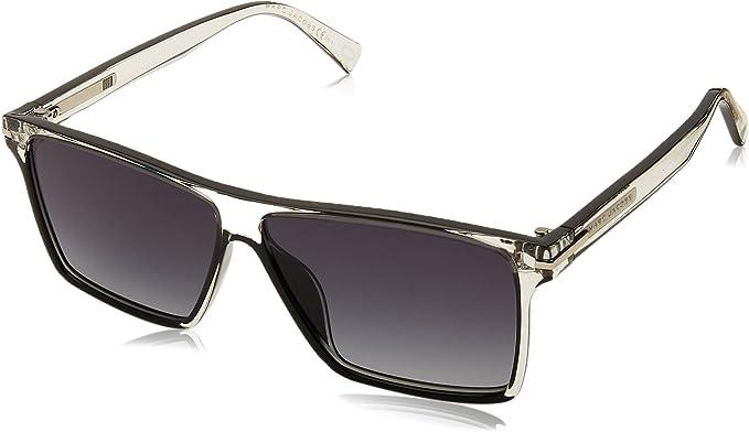 Marc Jacobs lunettes de soleil carrés contemporains en crystal noir MARC 222S MNG 58