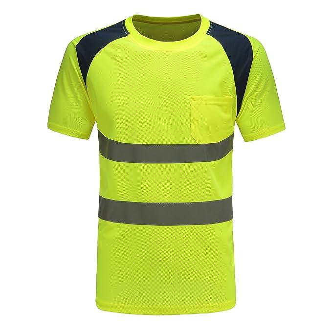 AYKRM Camisetas y Polos de Alta Visibilidad: Amazon.es: Ropa y ...