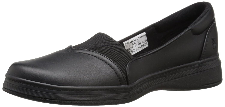 Grasshoppers Women's Jade Fashion Sneaker B017DJ7GF2 7 E US|Black Smooth