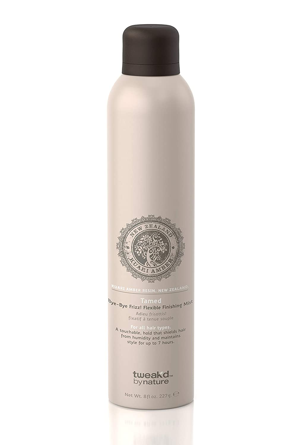 Tweak-d By Nature Tamed Bye-Bye Frizz flexible Finishing For All Hair Types 8 oz.