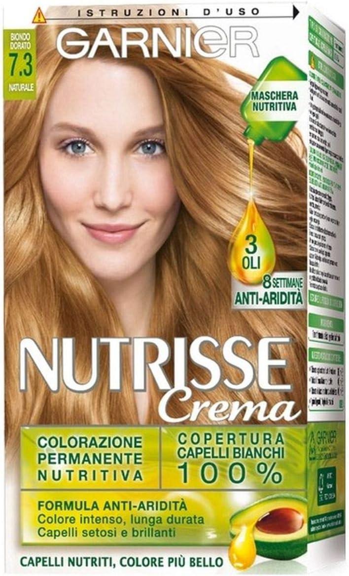 Garnier Nutrisse Tinte permanente Nutritivo 7.3 Biondo Dorato