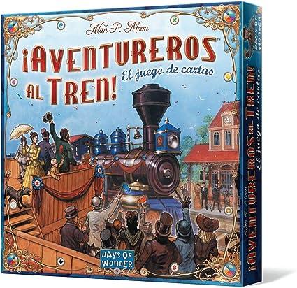 Days of Wonder Aventureros al Tren. Juego de Cartas: Amazon.es: Juguetes y juegos