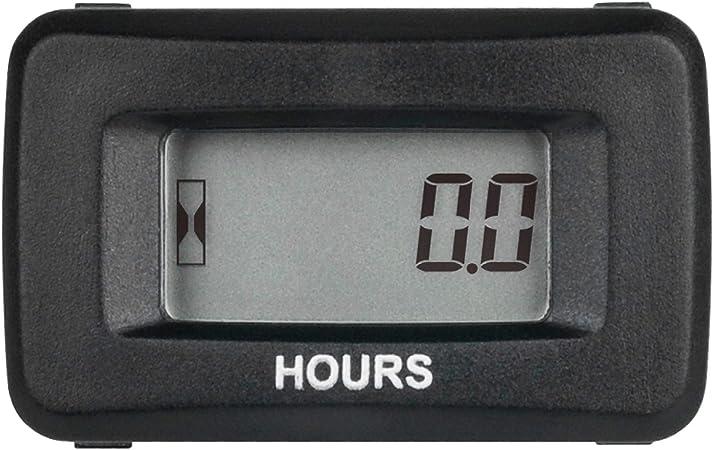 Runleader Digital Lcd Betriebsstundenzähler Kit Ac Dc 5 V Bis 277 V Verwendung Für Ztr Rasenmäher Traktorgenerator Golfwagen Clubauto Scrubber Marine Atv Motorkompressor Und Gasbetriebene Geräte Baumarkt