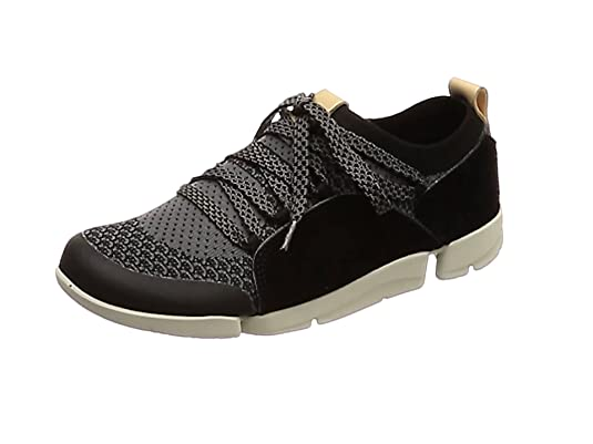 Clarks TRI NATIVE Sneaker low dark grey Damen Schuhe Leder