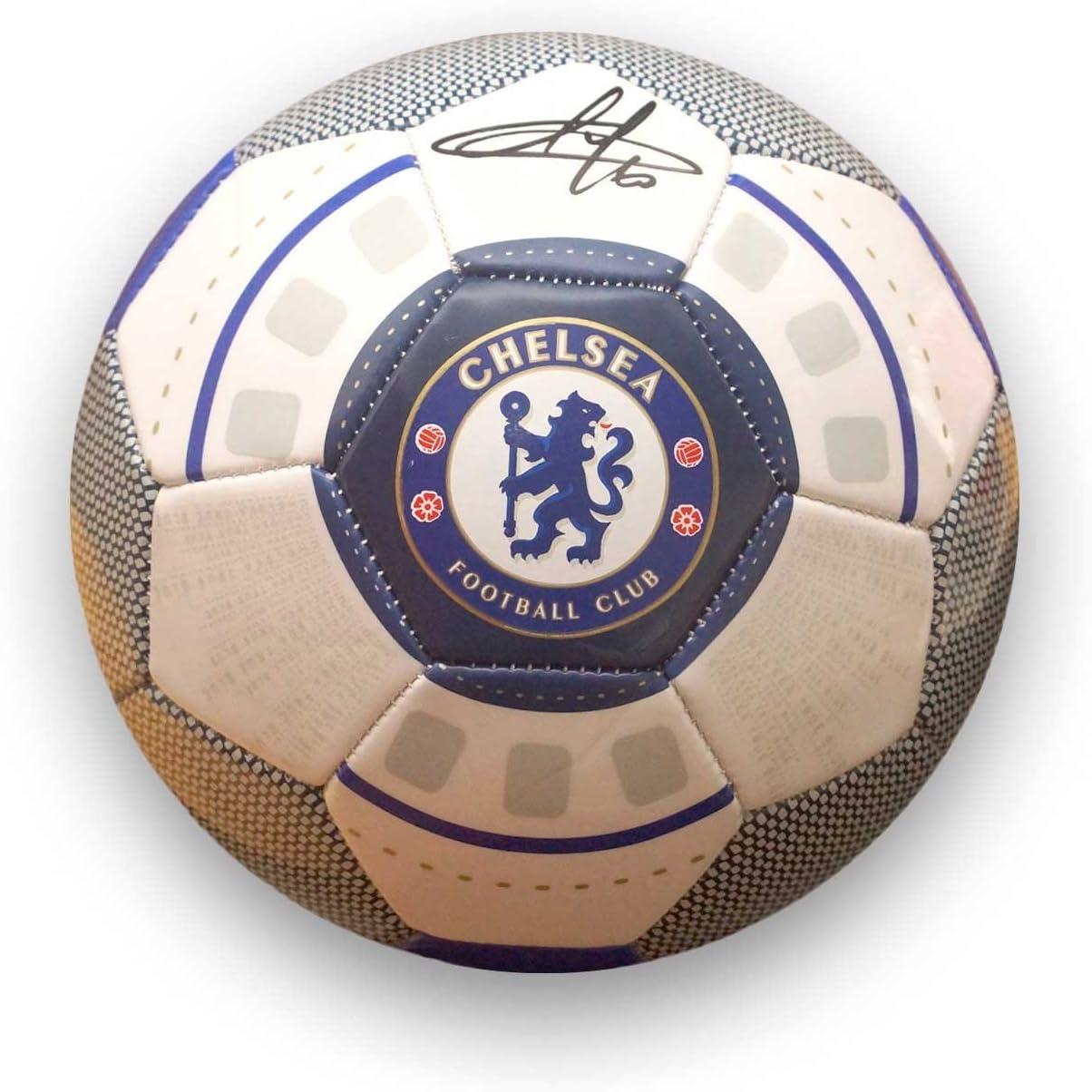 Eden Hazard Chelsea Football Firmado: Amazon.es: Deportes y aire libre