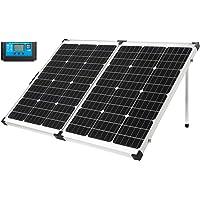 MEGAVOLT 160W Portable Foldable Solar Panel Kit 12V Monocrystalline Solar Charge Caravan Boat Camping Power Charging…
