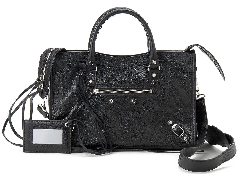 [バレンシアガ]Balenciaga ハンドバッグ 431621 D94JN 1000 クラシックシティ ブラック CLAS. CITY S AJ BK [並行輸入品] B06Y439SQT