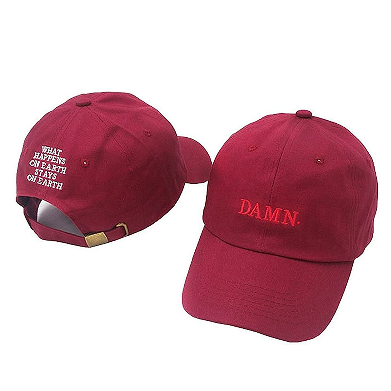 Xuzirui New Damn Embroidered Baseball Cap Snapback Hat Cotton Adjustable Dad Hat