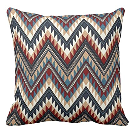 Amazon Emvency Throw Pillow Cover Native Western Tribal 40 Dark Adorable Western Decorative Pillows
