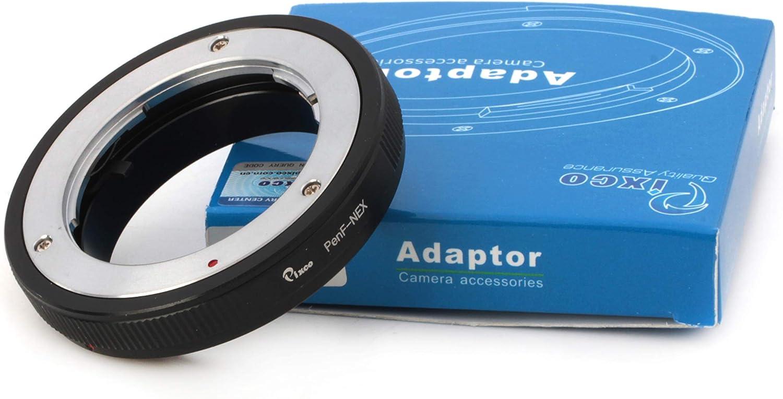 Pixco Lens Adapter for Olympus Pen F Lens to Sony E Mount Adapter NEX-5T NEX-3N NEX-6 NEX-5R NEX-F3 NEX-7 NEX-5N NEX-5C NEX-C3 NEX-3 NEX-5 NEX-VG10 NEX-VG20