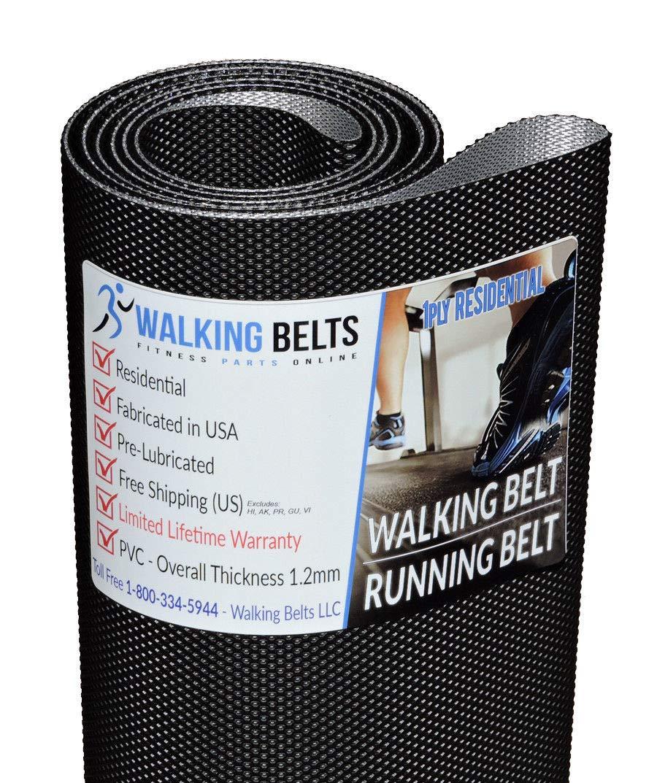 WALKINGBELTS Walking Belts LLC - Golds Gym Trainer 430 Treadmill Walking Belt GGTL396140 + Free 1oz Lube