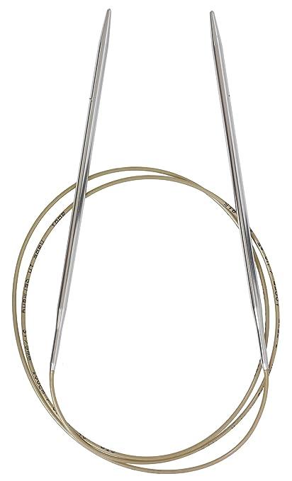 addi Turbo Circular 40-inch (100cm) Knitting Needle; Size US 05 (