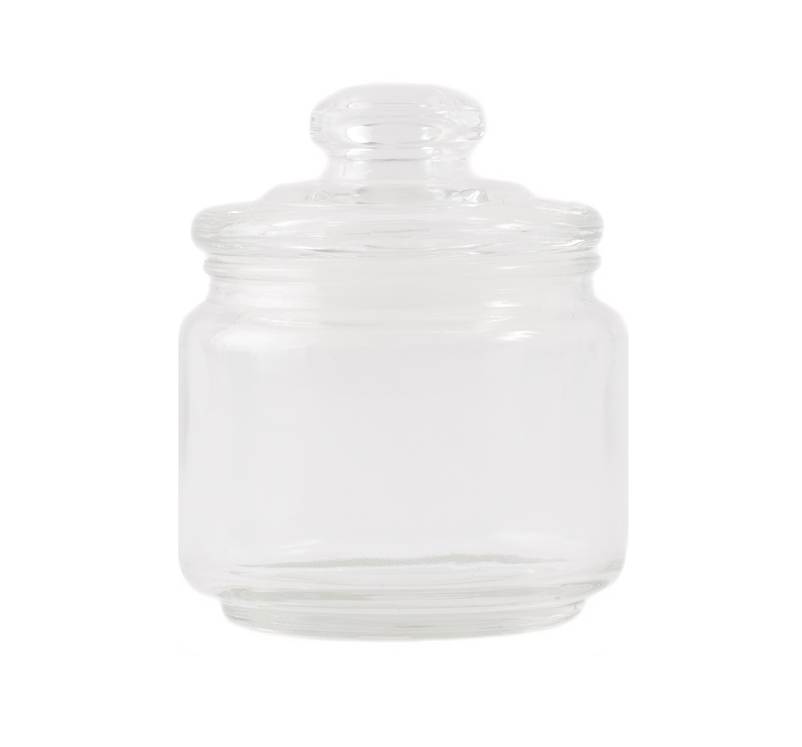 300ml Glass Candle Jar with Lid x 48