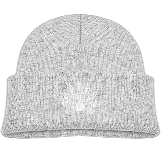 f19e1e0edd6 Amazon.com  Knitted Hat Beanies Cap Unisex Baby Warm Peacock Floral ...
