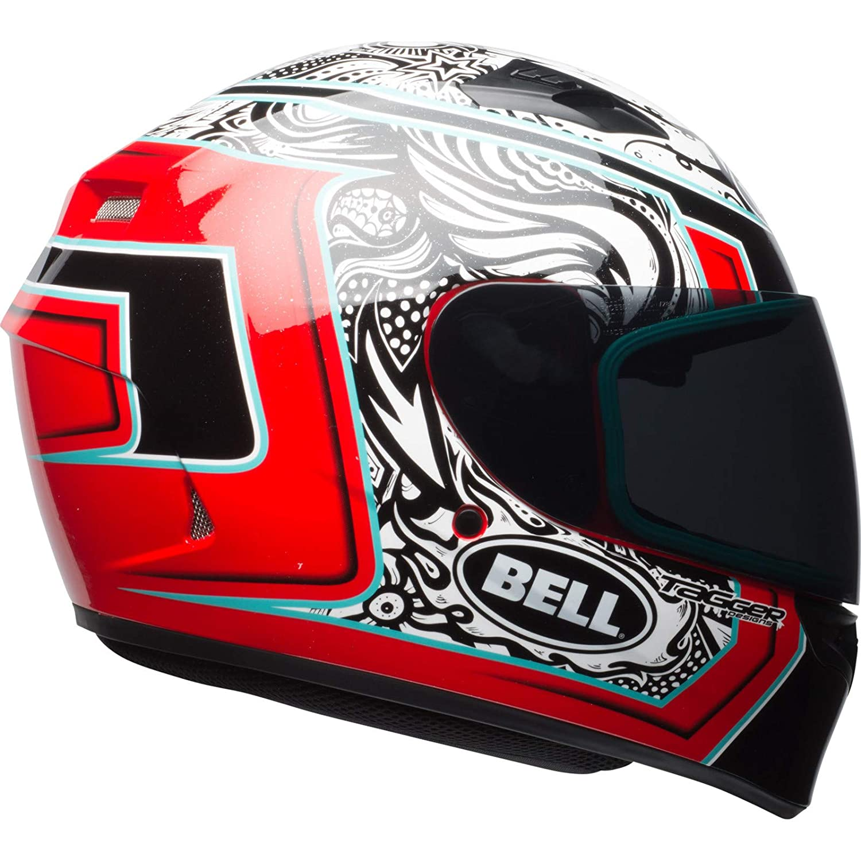 Bell Casco QUALIFIER TAGGER WHITE//BLACK//RED M
