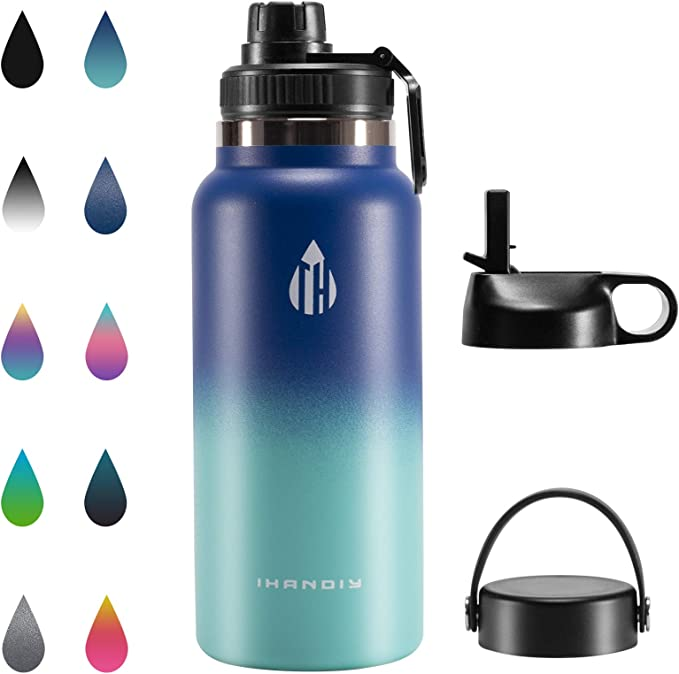 Water Bottle Stainless Steel Matte 300ml Vacuum Insulated Small Water E5Z2