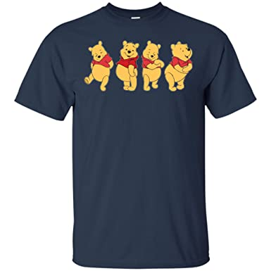 aa8fd1500 Amazon.com: Vintage Winnie The Pooh T-Shirt Street Wear Cartoon ...