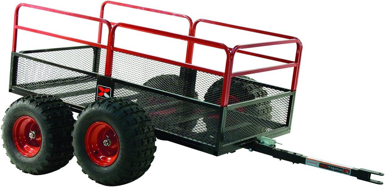 Amazon Com Yutrax Trail Warrior X4 Heavy Duty Utv Atv Trailer For Off Road Use 1 250 Lb Capacity Automotive