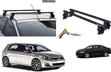 Kit di Attacco SPECIFICO per Auto Sistema di Montaggio con Barre Barre PORTATUTTO Portapacchi da Tetto per Auto Senza RAILINGS