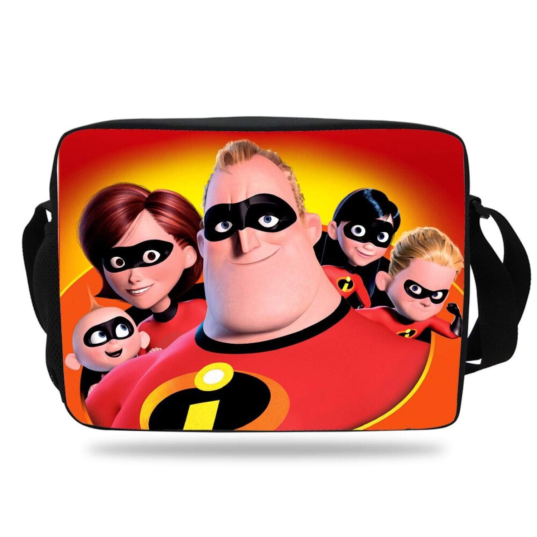 Cartoon Shoulder Bag for Boys Girls The Incredibles Messenger Bag for Teenagers School Single Shoulder Messenger Bag,7M758