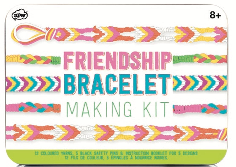 NPW-USA DIY Multicolored Friendship Bracelet Making Kit W5981