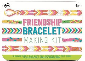 Npw Usa Diy Multicolored Friendship Bracelet Making Kit